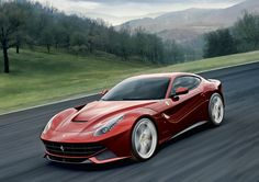 Ferrari F12 Berlinetta is one of the best looking new cars I've seen. 740 horsepower ain't too bad either :)