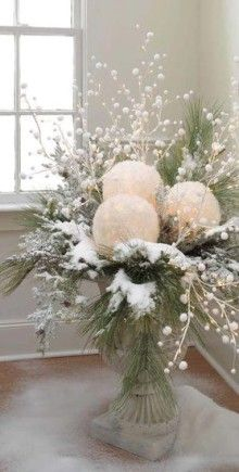 take white balloons and white tissue paper. blow up balloons, dip tissue in glue, cover balloons and let dry. cut out a space for battery tea light and use in center pieces. Use colored, silver, gold or Christmas tissue paper for a holiday look