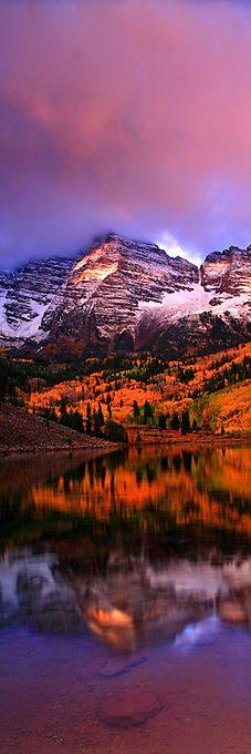 """""""Aspen Bells"""" Maroon Bells, Colorado"""