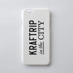 KRAFTRIP IN THE CITY Logo iPhone case  -Matte White