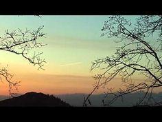 Sunset in the San Bernardion Mountains.