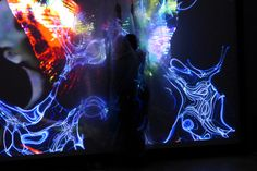 "Transmedial Literature Performance ""KörperBilder"" (Body images) Text/Perfomance: Rhea Krcmárová Projection Art by Sound: Henric Fischer/Das Stadtkind Photo (c) Hubert Sielecki Body Images, Literature, Concert, Design, Art, Literatura, Art Background, Kunst"