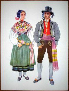 Slovenia Folk Costume - Kranjska Gora