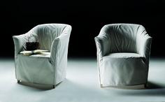 FLEXFORM DORALICE armchair, designed by Paolo Nava & Antonio Citterio, 1980.