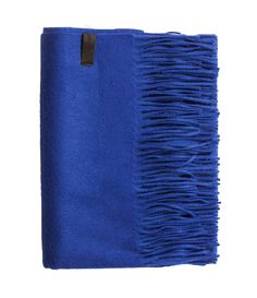 Amazing Amy - Blue Wool/Cashmere Scarf - 95 % Wool / 5 % Cashmere