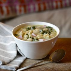 Lolly's White Bean and Kale Soup with Ham