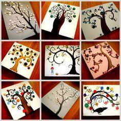 Botones y pintura