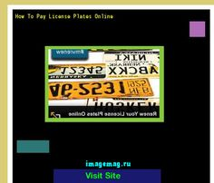 How to pay license plates online 142852 - The Best Image Search