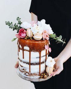 "6"" layers of caramel, coconut, pistachio & white chocolate"