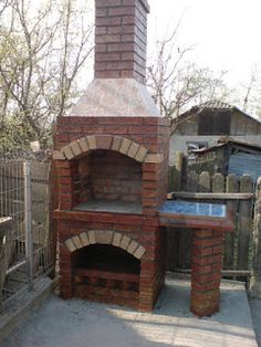 Resultado de imagen para Buschbeck BBQ fireplaces on top of a tall base Garden Bbq Ideas, Bbq Grill, Grilling, Indoor Pizza Oven, Firewood Storage, Brick Building, Backyard Bbq, Outdoor Living, Barbacoa