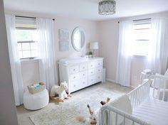 White/pink nursery