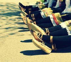 Serbian folklore dance shoes