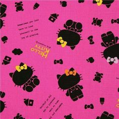 red Japanese shadow Hello Kitty oxford fabric by Sanrio - Kawaii Fabric Shop Hello Kitty Backgrounds, Hello Kitty Wallpaper, Sanrio, Hello Kitty Imagenes, Hello Kitty Tattoos, Hello Kitty Pictures, Wallpaper Stickers, Hello Kitty Birthday, Textiles