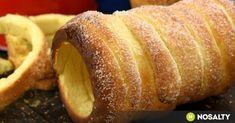 Erdélyi kürtőskalács, ahogy mi készítjük recept képpel. Hozzávalók és az elkészítés részletes leírása. Az erdélyi kürtőskalács, ahogy mi készítjük elkészítési ideje: 60 perc Winter Food, French Toast, Bread, Breakfast, Recipes, Basket, France, Kuchen, Morning Coffee
