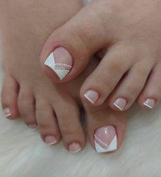 Magic Nails, Pedicure, Spa, Instagram, France, Toe Nail Art, Simple Elegant Nails, Nail Manicure, Pretty