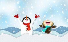 Peanuts Christmas Wallpaper Cool Wallpaper HD - New HD Pictures & Wallpapers Christmas Wallpaper Ipad, Snowflake Wallpaper, Snowman Wallpaper, Holiday Wallpaper, Cartoon Wallpaper Hd, Of Wallpaper, Widescreen Wallpaper, Peanuts Christmas, Christmas Fun