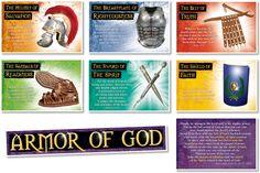 North Star Teacher Resources - NS3109 The Armor of God Bulletin Board