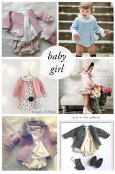 trends baby girl fall winter