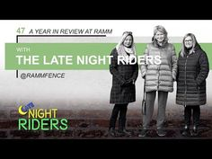 Late Night Riders #47 - One Year! - YouTube –Late Night Riders have been live for one year! In this episode, we review the 2019 year as well as make a big announcement... be sure to check it out! #equestrian #lifestyle #podcast #horses #equestrianlifestyle #latenightriders #lnr #rammfence