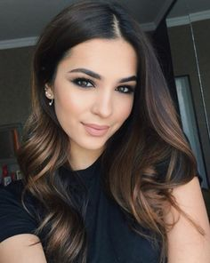Gorgeous fall hair color for brunettes ideas (54)