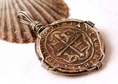 Wire Wrap Antique Coin 2 by BlueSeaJewels, via Flickr