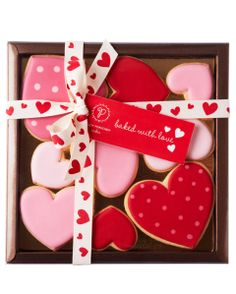 Valentines Heart Cookie Collection