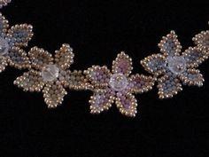 TUTO Brick stitched flowers #Seed #Bead #Tutorials