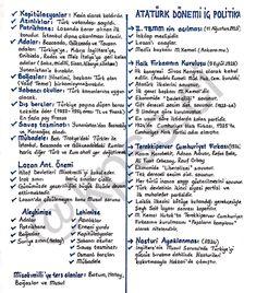 Yeni notunuz 📝 #kpss #kpssci #kpss2018 #kpsslisans #kpssönlisans #kpssortaöğretim #yks #tyt #ayt #genelkültür #genelyetenek #güncelbilgiler #tarih Study Tips, Ankara, Bullet Journal, Medical, Istanbul, Exercise, How To Plan, Education, History