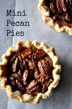 Mini Pecan Pies - Grandma's Pecan Pie Recipe - TodaysMama.com