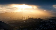 Los Angeles View after rain
