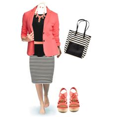 Stripes and Apple Guava (coral)