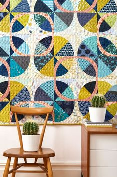 Love Patchwork and Quilting magazine, quilt by Sharon McConnell