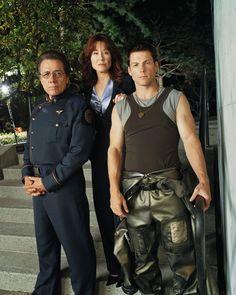 Battlestar Galactica - Adama, Roslin & Apollo