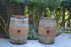 Two French Barrels