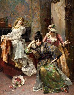 After The Ball  Francesc Masriera