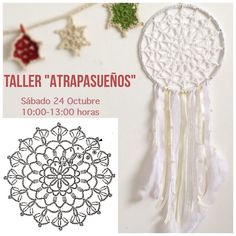 Best 12 Patterns and motifs: Crocheted motif no. Crochet Dreamcatcher Pattern, Crochet Snowflake Pattern, Crochet Snowflakes, Crochet Motifs, Doily Patterns, Crochet Doilies, Crochet Flowers, Crochet Patterns, Crochet Chart