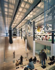 Prada Store New York By Rem Koolhaas http://thewhitecave.wordpress.com/2014/04/22/prada-store-new-york-by-rem-koolhaas/
