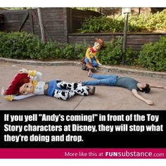 Next time I go to Disney world and see them, I'm gonna try this and see if it works, if it does I'll laugh my head off