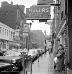 9 vintage photos of Detroit's Greektown from the 1960s and 70s
