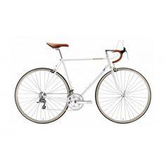 """Rower dla Twojego faceta Creme Echo Solo White 16S 28"""" Rower, który stylistyką pasuje do wszystkiego - nawet garnituru. http://damelo.pl/rowery-miejskie-dla-twojego-mezczyzny/537-rower-dla-twojego-faceta-creme-echo-solo-white-16s-28.html"""