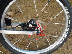 Pinza de freno hidraulica en la rueda del remolque