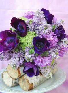 purple wedding bouquets | the daily petal: THE Purple Wedding Bouquet