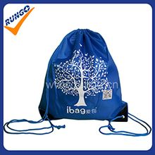Fashion wholesale polyester drawstring bags