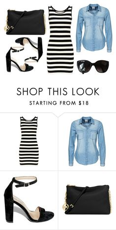 2016/396 by dimceandovski on Polyvore featuring Vero Moda, Steve Madden, MICHAEL Michael Kors and Chanel