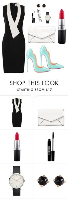 """""""StyledbyS"""" by sforstylebys on Polyvore featuring Paper Dolls, Christian Louboutin, LULUS, MAC Cosmetics, Lord & Berry, Irene Neuwirth, WorkWear, DateNight, summerstyle and celebirtyinspired"""