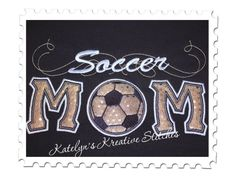 Soccer Mom Applique with a Twist