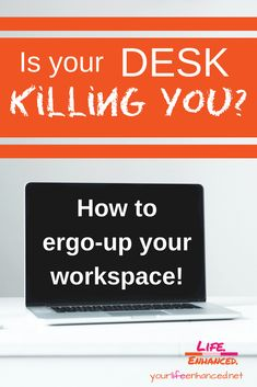 Is your desk killing you? Positive Living, Workplace, Life Lessons, Letter Board, How To Remove, Success, Positivity, Desk, Tips