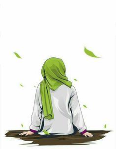 İslamic anime ve tesettür - Best of Wallpapers for Andriod and ios Cartoon Kunst, Cartoon Art, Cartoon Images, Whatsapp Info, Hijab Drawing, Moslem, Cute Love Pictures, Islamic Cartoon, Cute Girl Wallpaper