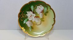 Vintage Wheelock La Art Modern Plate Hand Painted by EtagereLLC, $75.00