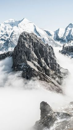 Snowy Mountains ★ Preppy Original 31 Free HD iPhone 7 & 7 Plus Wallpapers